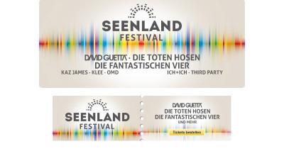 Seenlandfestival - Webbanner