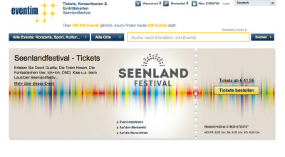 Seenlandfestival - Ticket
