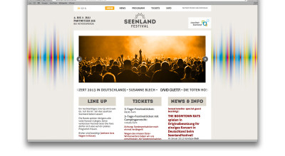 Seenlandfestival - Website