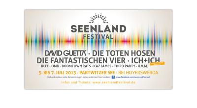 Seenlandfestival - Flyer