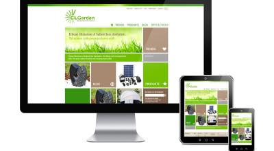 CLGarden - Responsive Webdesign