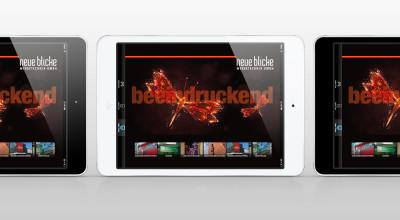 Neue Blicke - iPad-Ansicht