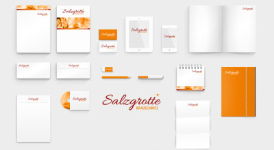Salzgrotte Krauschwitz - Corporate Design
