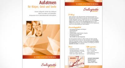 Salzgrotte Krauschwitz - Flyer