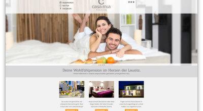 Casa mia - Webseite