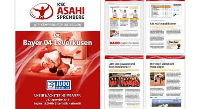 KSC Asahi - Faltblatt