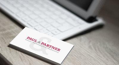 Paul & Partner - Visitenkarte