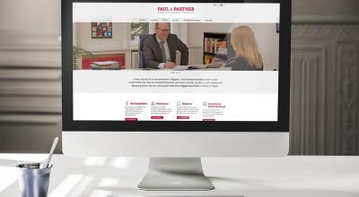 Paul & Partner - Internetseite