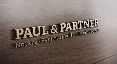 Paul & Partner - Logo 3D