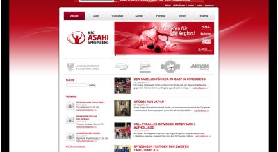 KSC Asahi – Internetauftritt