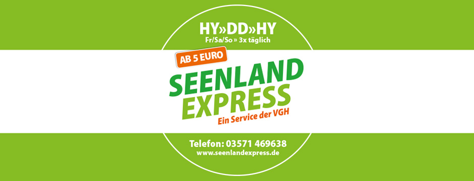 Seenlandexpress - Design