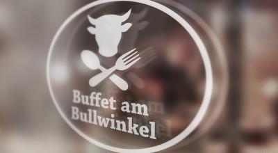 Buffet am Bullwinkel - Beklebung
