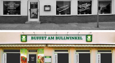 Buffet am Bullwinkel - Schaufenster