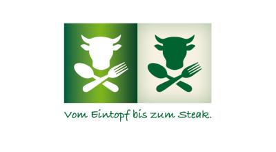 Buffet am Bullwinkel - Signet mit Slogan