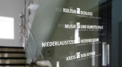 Kulturschloss - Beklebung