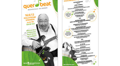 Querbeat - Flyer 1