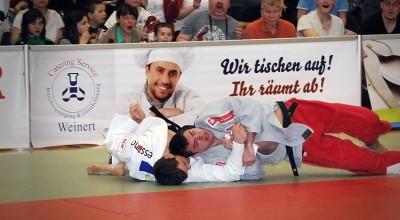 Weinert Catering - Bannerwerbung KSC ASAHI