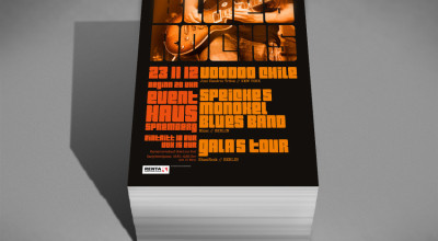 BluesRocks - Flyer