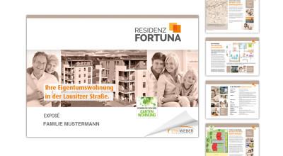 Residenz Fortuna - Kundenexpose