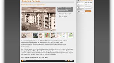 Residenz Fortuna - Website - Landing Page