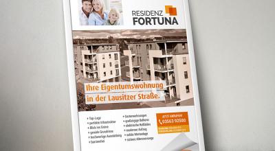 Residenz Fortuna - Plakat