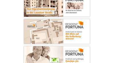 Residenz Fortuna - Website-Banner