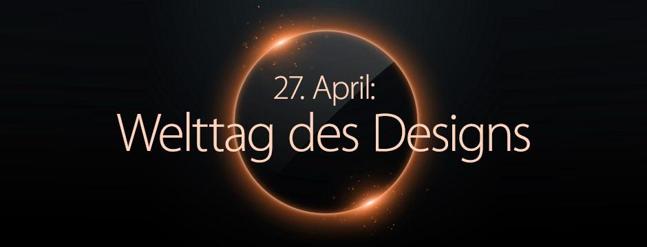 Welttag des Designs