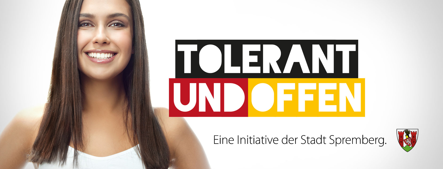 tolerant und offen - Design