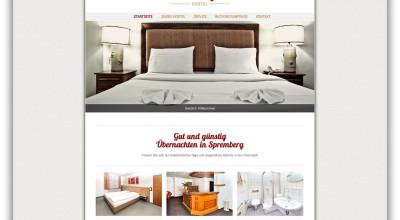 Hostel Zimmer frei - Internetseite