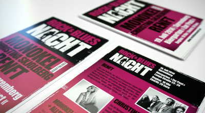 Rock- & Bluesnacht - Flyer