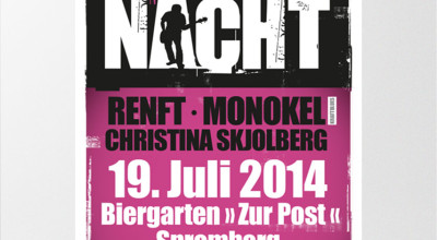 Rock- & Bluesnacht - Plakat