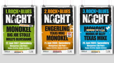 Rock- & Bluesnacht - Plakate