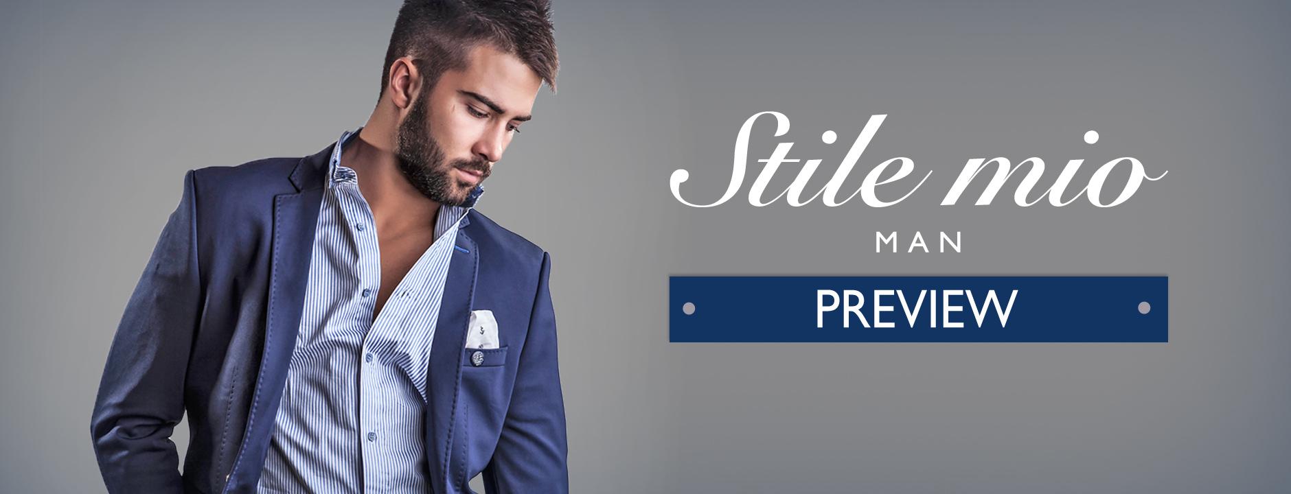 Stile mio Man Preview