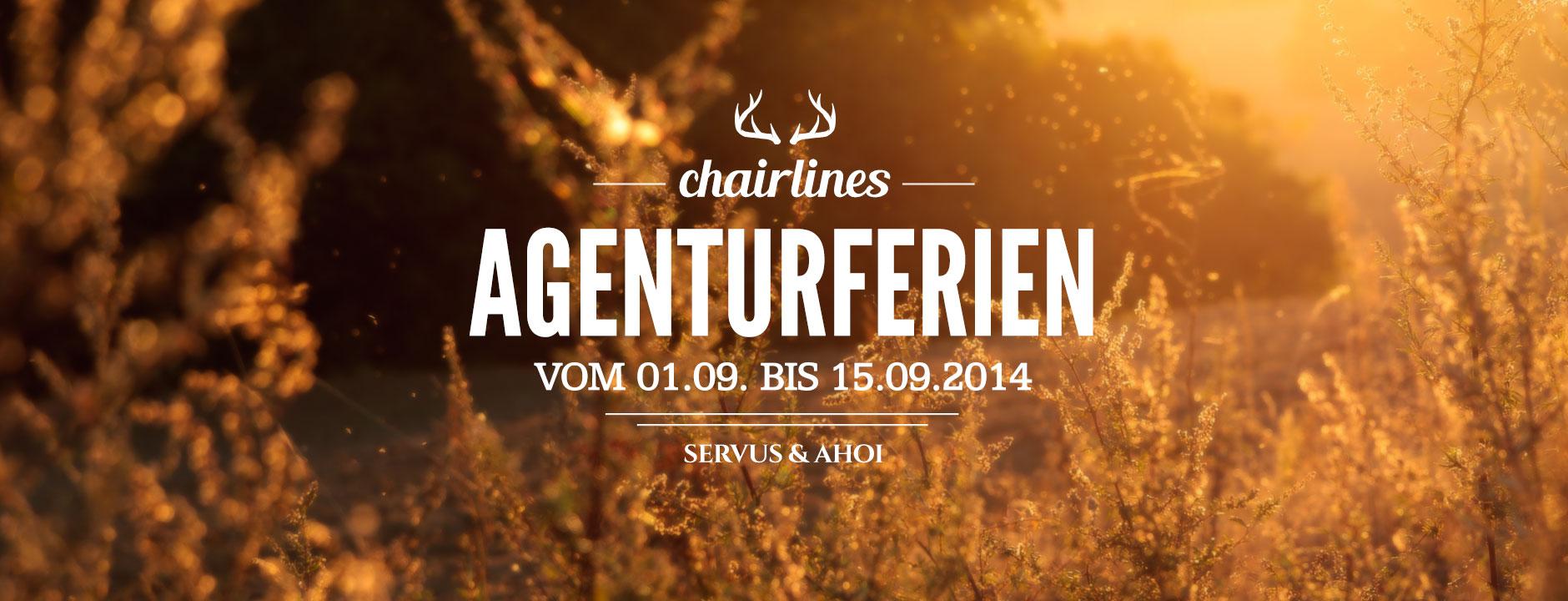 chairlines - Agenturferien 2014