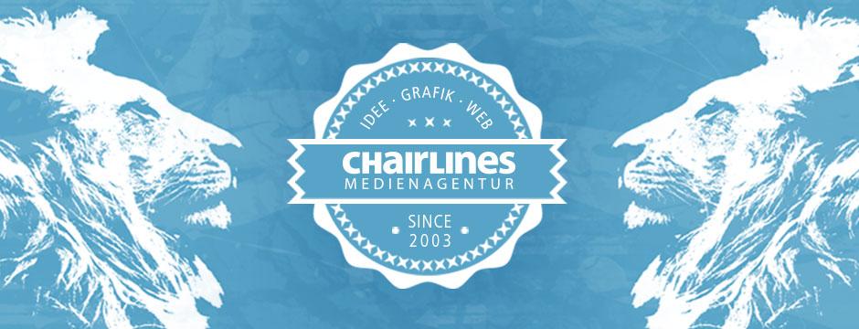 chairlines - 10 Jahre Werbung, Mediengestaltung und Webdesign
