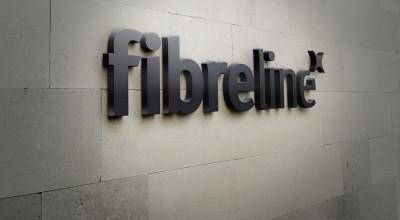 Fibreline - 3D-Logo