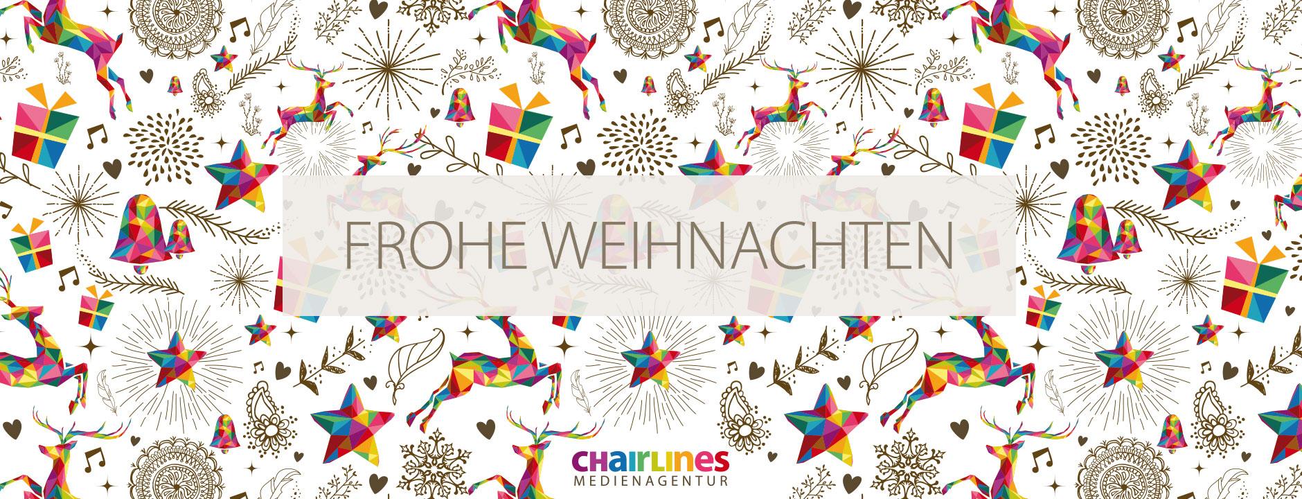chairlines – Weihnachtskarte Design Weihnachten