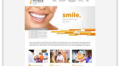 ZA Petrick - Webdesign