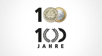 Volksbank Spree-Neiße - Logo (Herleitung)