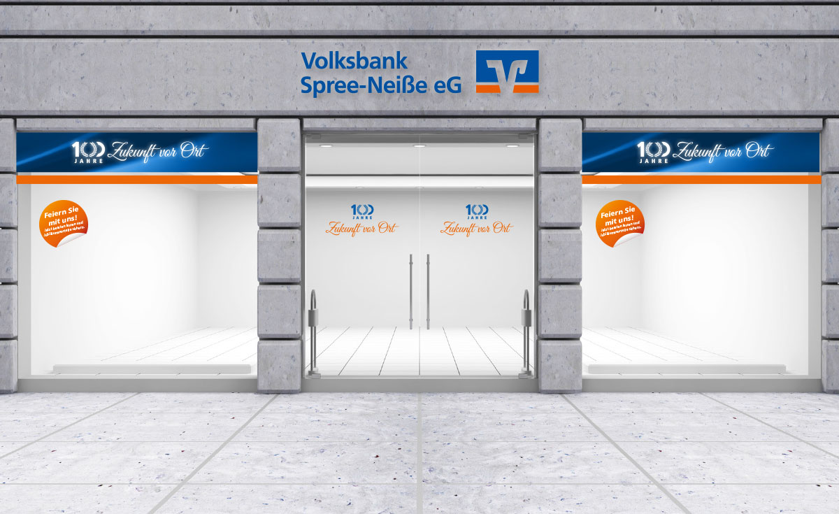 Volksbank Spree Nei E Eg 100 Jahre Jubil Um