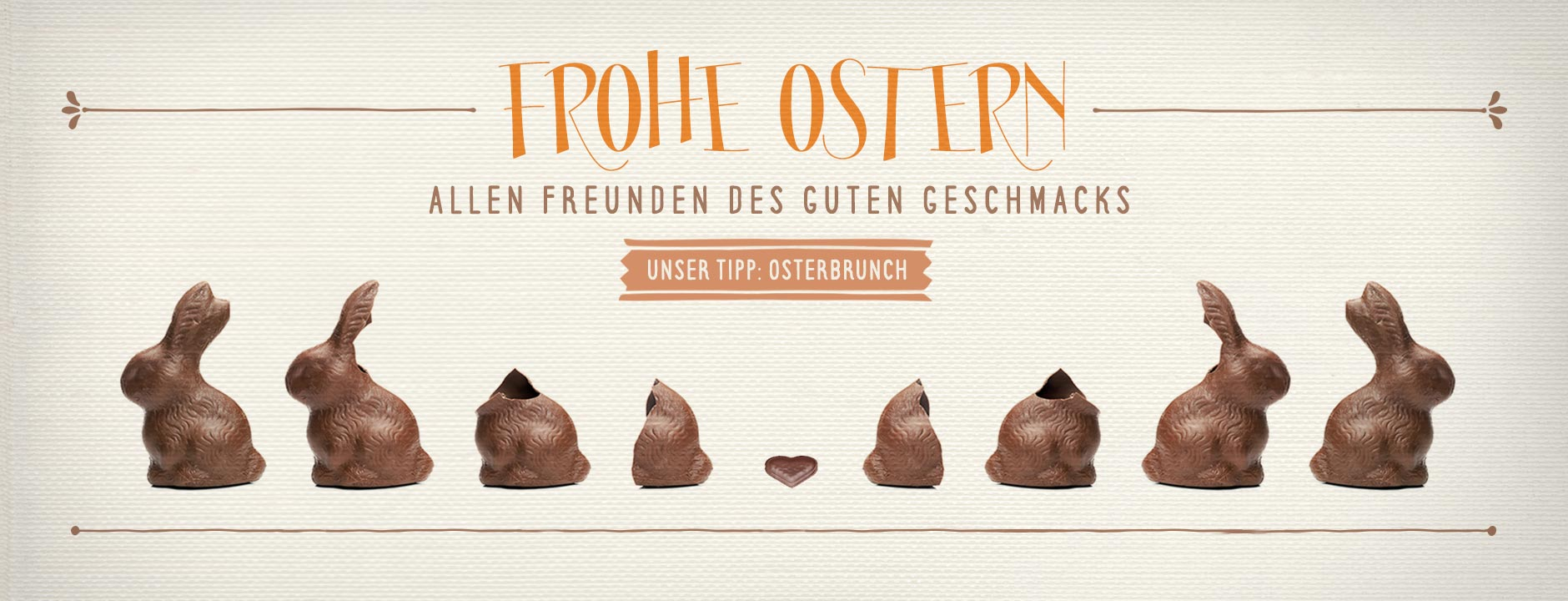 chairlines - Frohe Ostern Osterbrunch
