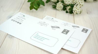 Hochzeits-Ausstattung - Briefkuverts