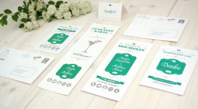 Hochzeits-Design - Corporate Design