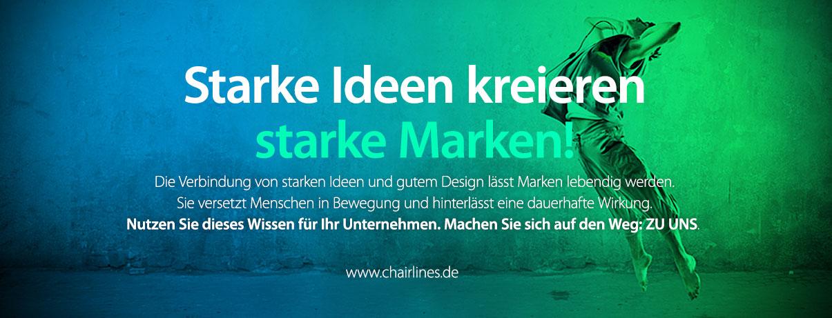 chairlines - Starke Ideen kreieren starke Marken