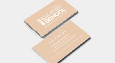 Summer School - Visitenkarte International Nutrition