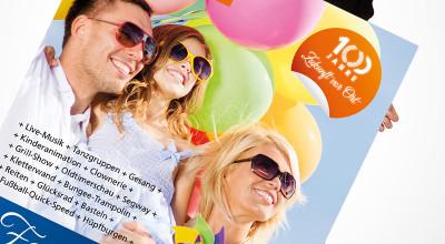 Volksbank Familientag – Plakat