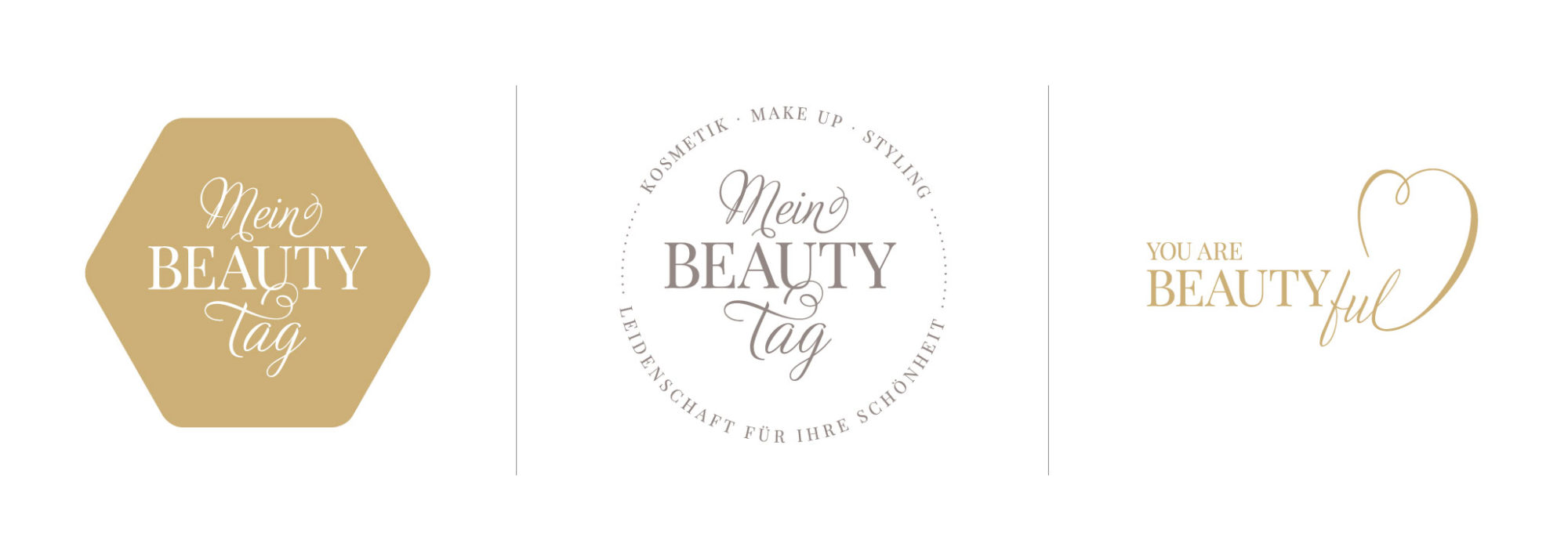 One Page Website Logo Und Styleguide Für Kosmetikstudio