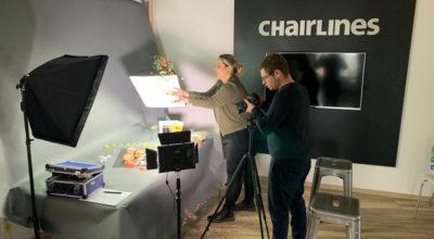 Making of - Produktclip - chairlines medienagentur