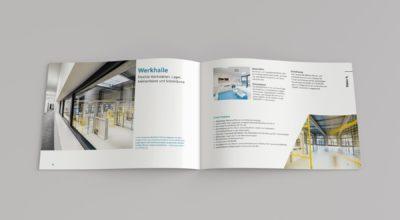 Dock3 Lausitz - Broschüre - chairlines medienagentur