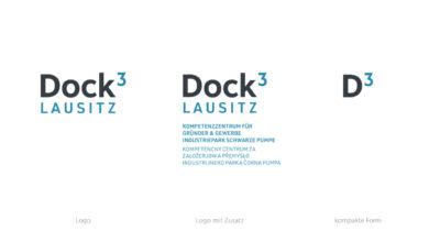 Dock3 Lausitz - Logo - chairlines medienagentur
